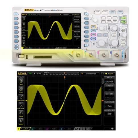 Digital Oscilloscope DS1074Z Plus