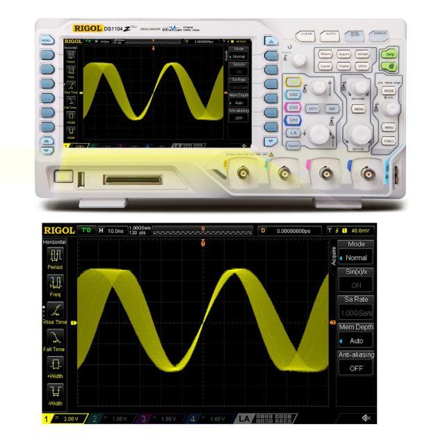 Digital Oscilloscope DS1104Z-S Plus