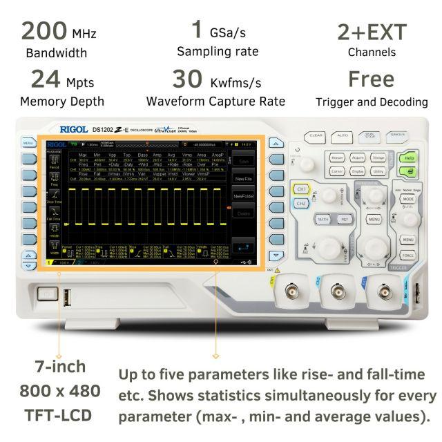 Digital Oscilloscope DS1202Z-E