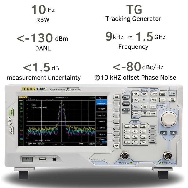 Spectrum Analyzer DSA815-TG