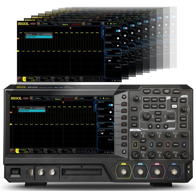 Digitla Oscilloscope MSO5204
